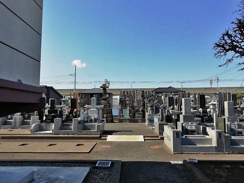 八潮樹木葬墓地 整理されている墓域