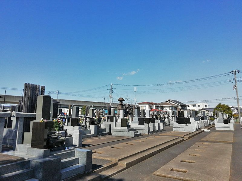 八潮樹木葬墓地 まだ余裕のある一般墓域