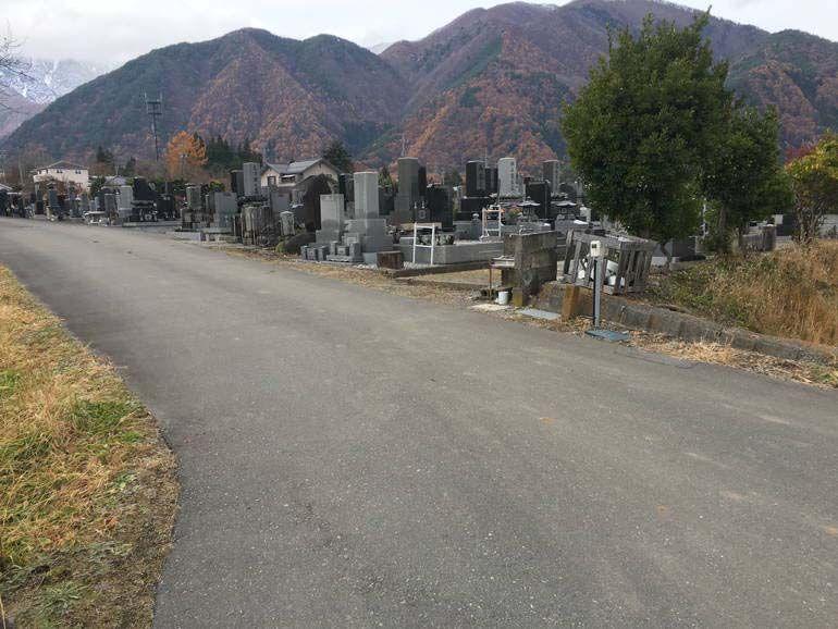 駒ヶ根市営 切石墓地