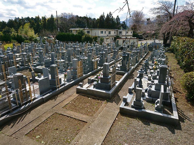 東光院 一般墓所風景