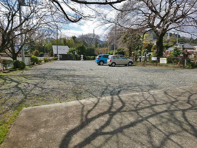 東光院 駐車スペース