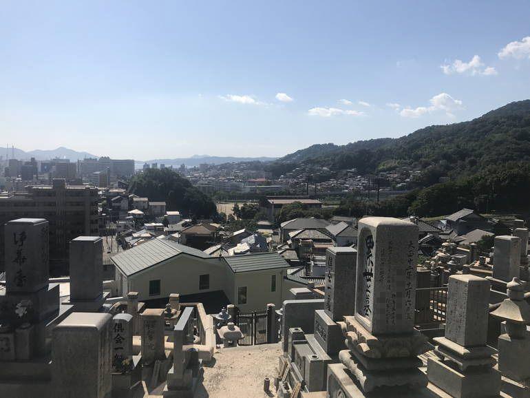呉市営 江原墓地