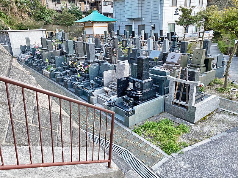 佐原霊園 風通しがよい墓地