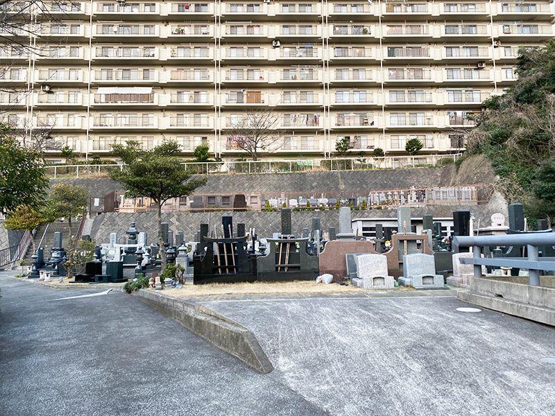 佐原霊園 バリアフリー設計の墓地