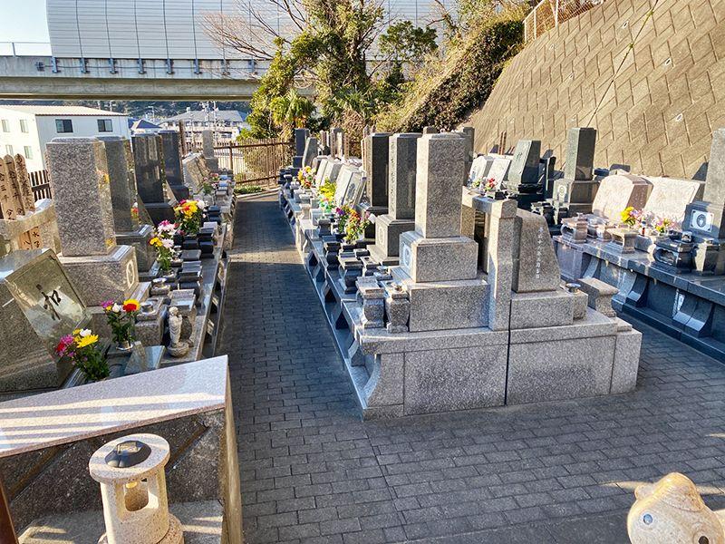 佐原霊園 日当たり良好な墓域