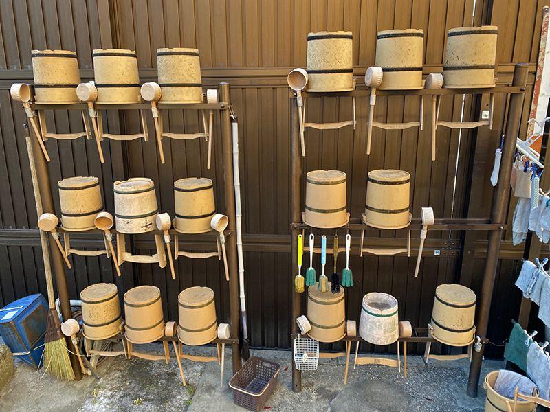 佐原霊園 手桶と柄杓を完備