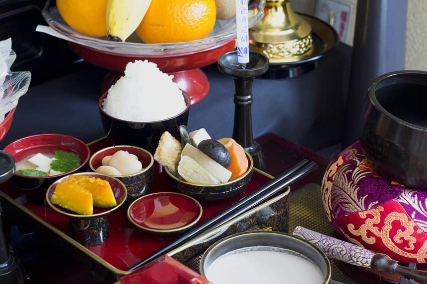 仏壇のお供え膳