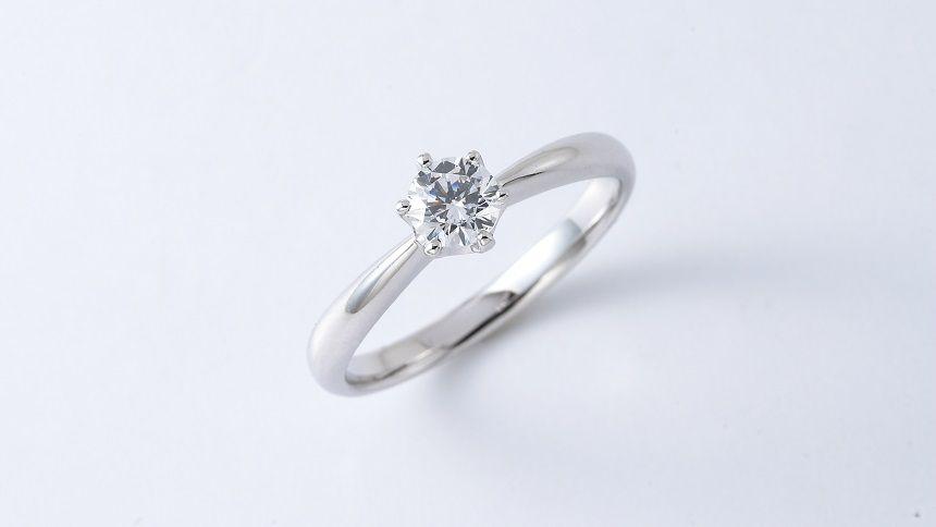ご遺骨ダイヤモンドのリング