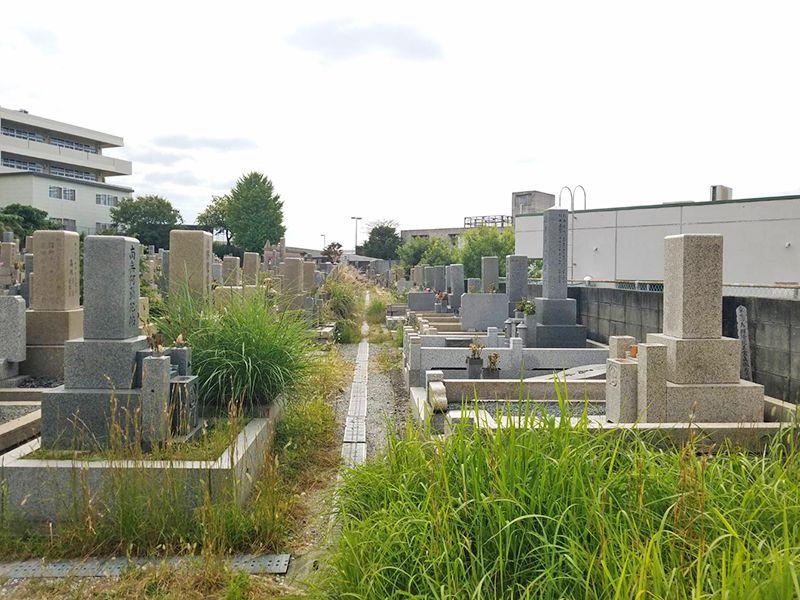 吹田市営 片山墓地