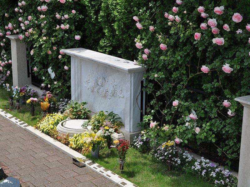 秋津ふれあいパーク バラの樹木葬「ダイアナ」