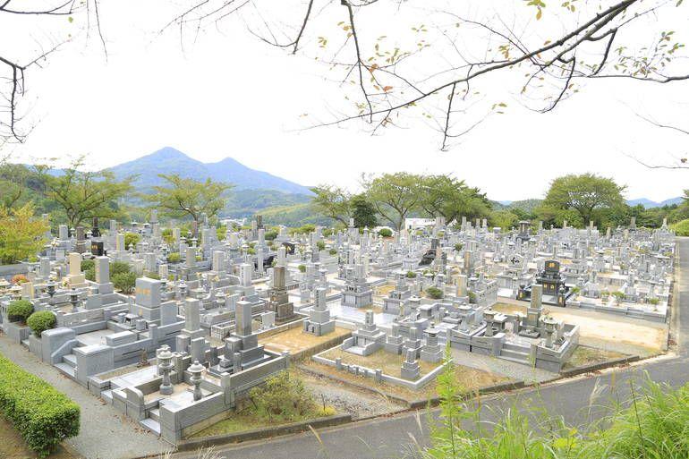 新宮霊園 開放感のある公園墓地