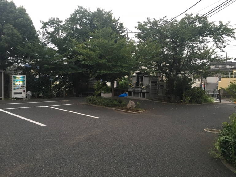 藤沢城南霊園 駐車スペース