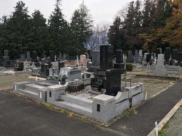駒ヶ根市営 射山原墓地