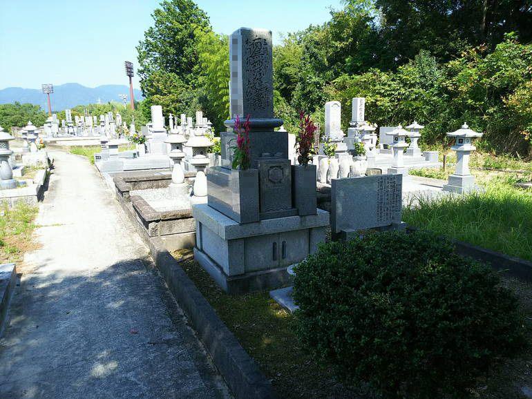 津山市営 志戸部墓地