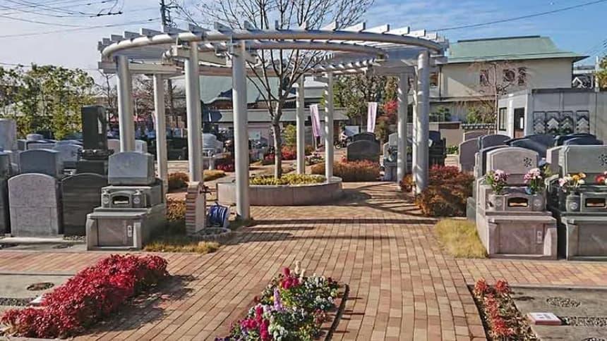 世田谷やすらぎ墓苑 花壇葬セレナージュの墓域