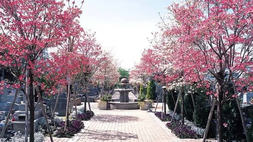 小平メモリアルガーデンの園内