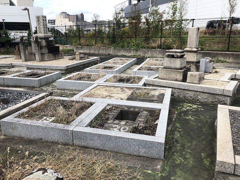 茨木市丑寅墓地