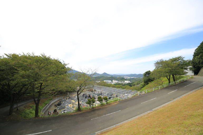 新宮霊園 自然溢れる霊園