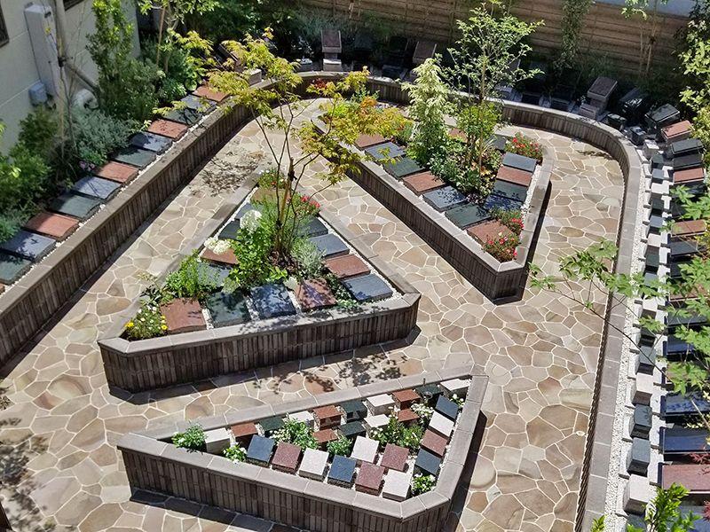 入谷の樹木葬 根岸庭苑