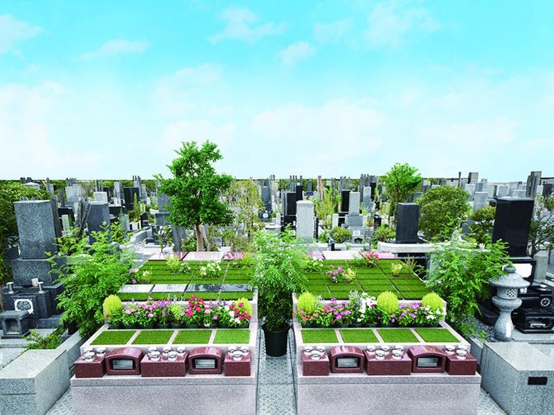 こだまの庭 越谷霊廟