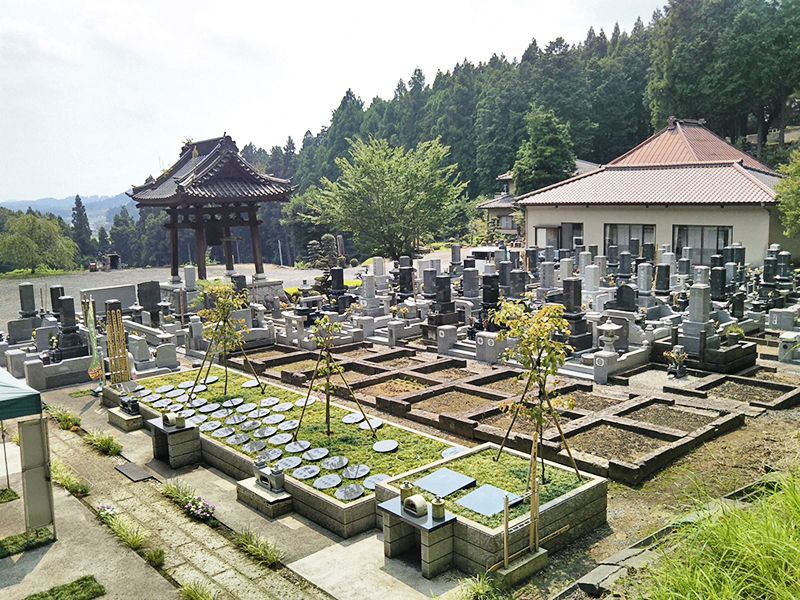自然豊かな杜 自然葬墓苑