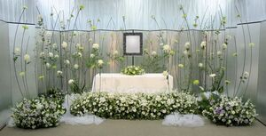 ユー花園の祭壇
