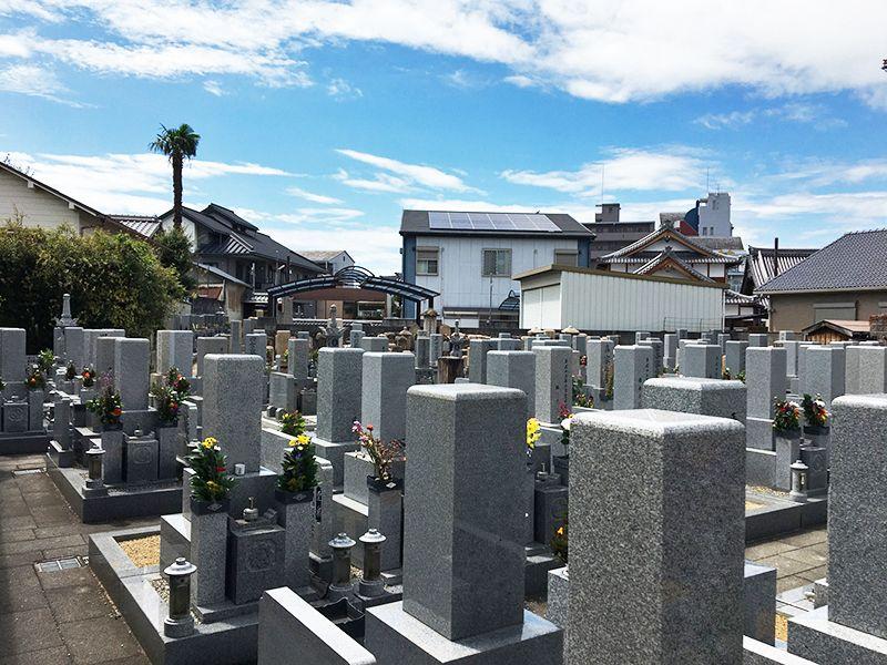 本昌寺墓地