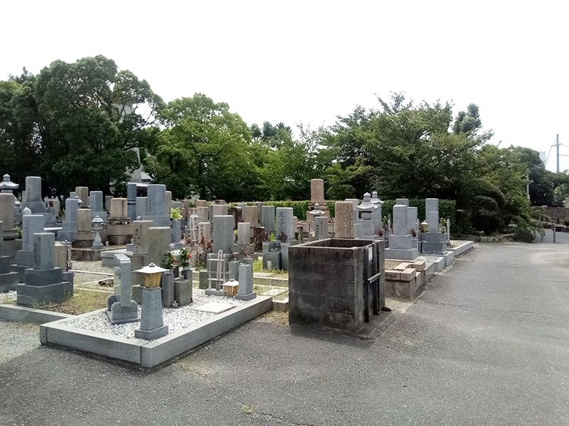 泉大津市営 春日墓地