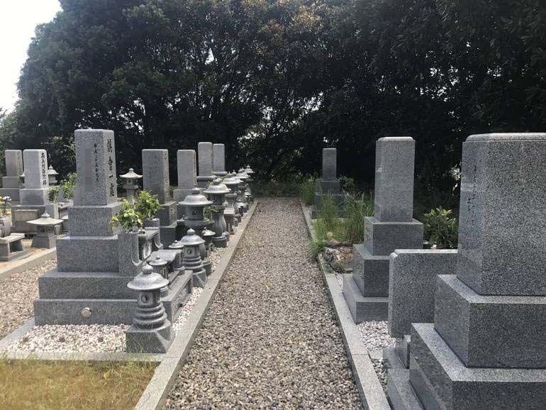 大竹市営 黒川墓苑