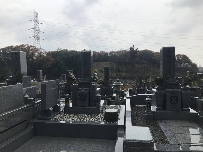 大阪狭山市営 西山霊園 数種類の区画を用意