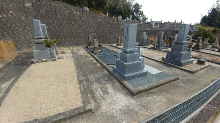 福山市営 加茂町稲月墓地