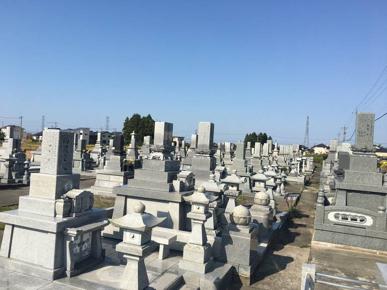 黒部市営 宇奈月墓地