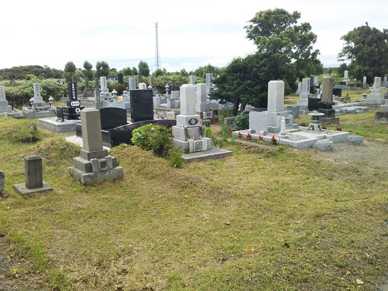 石狩市八幡墓地