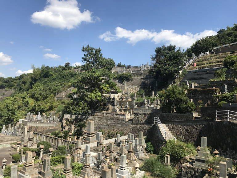 呉市営 室瀬墓地