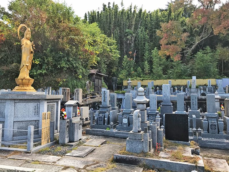 本照寺 光要山墓地