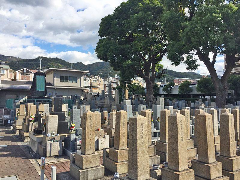 東大阪市営 額田墓地