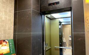 最勝殿のエレベーター