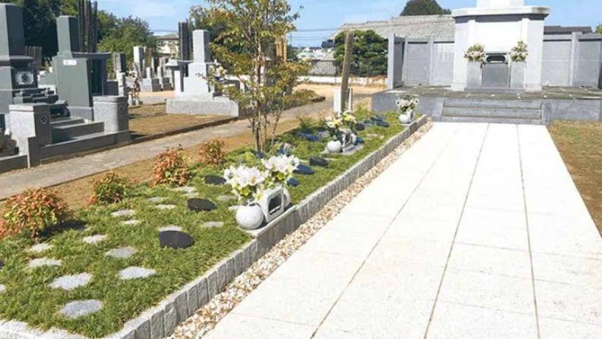 古河沙羅双樹樹木葬墓地