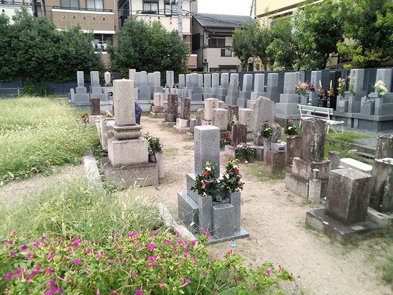 圓成寺墓地