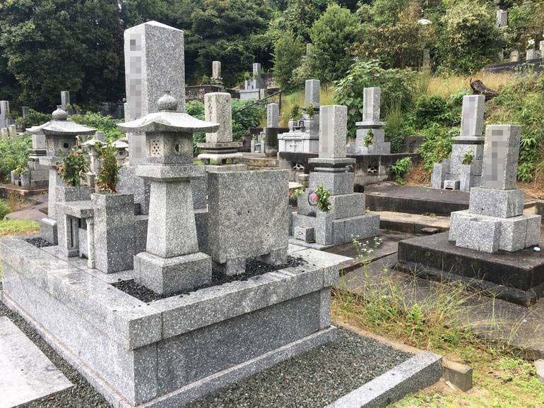 防府市営 岡山墓地