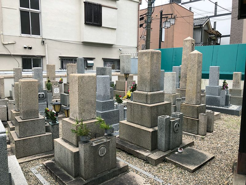 沢上江墓地