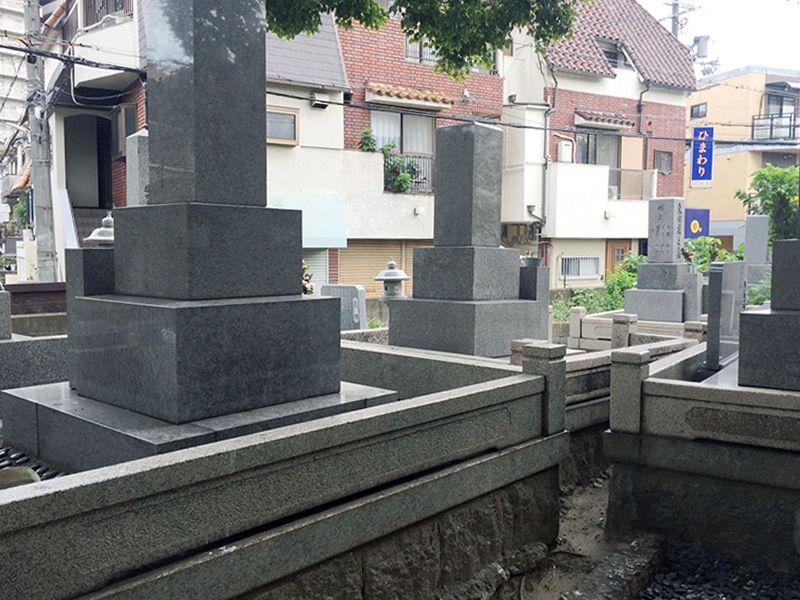 加島西墓地