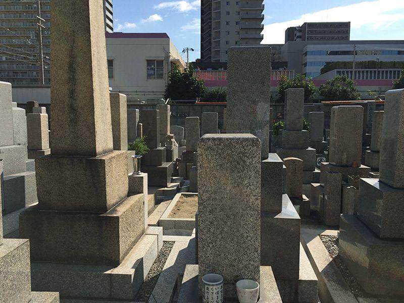 三国本町墓地