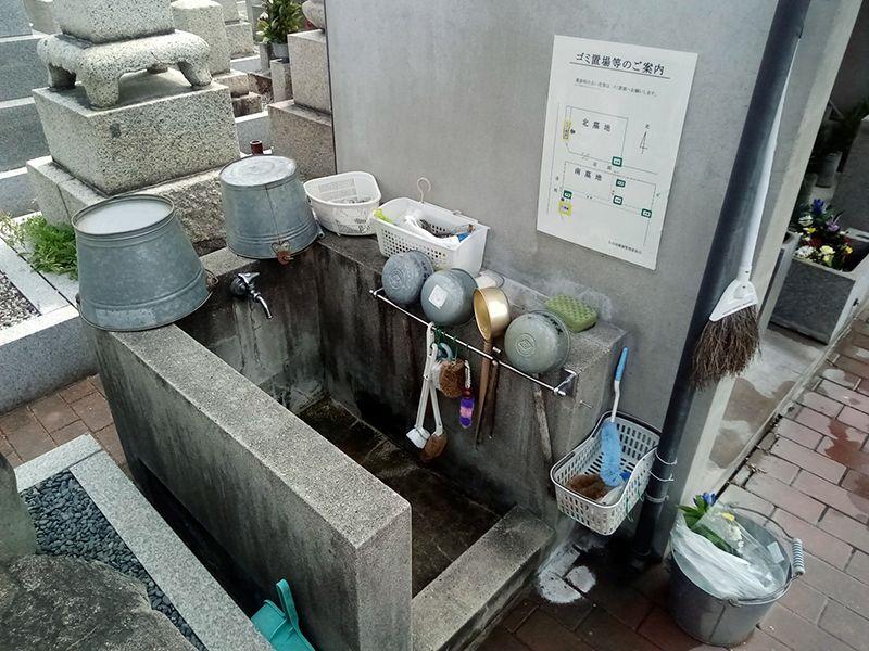 矢田富田墓地