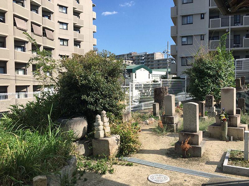 城山町墓地