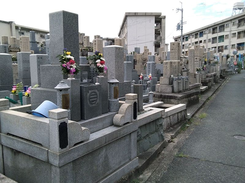 高槻市立 富田墓地