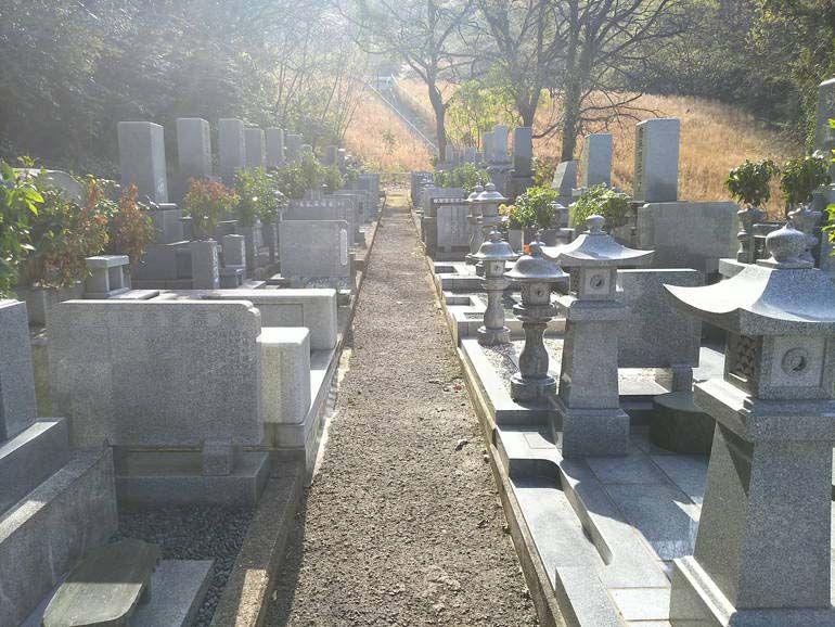 四国中央市営 宮ノ谷墓地 甲