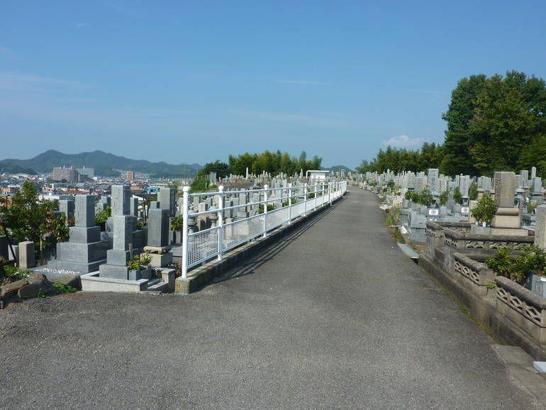 松山市営 大明神墓地