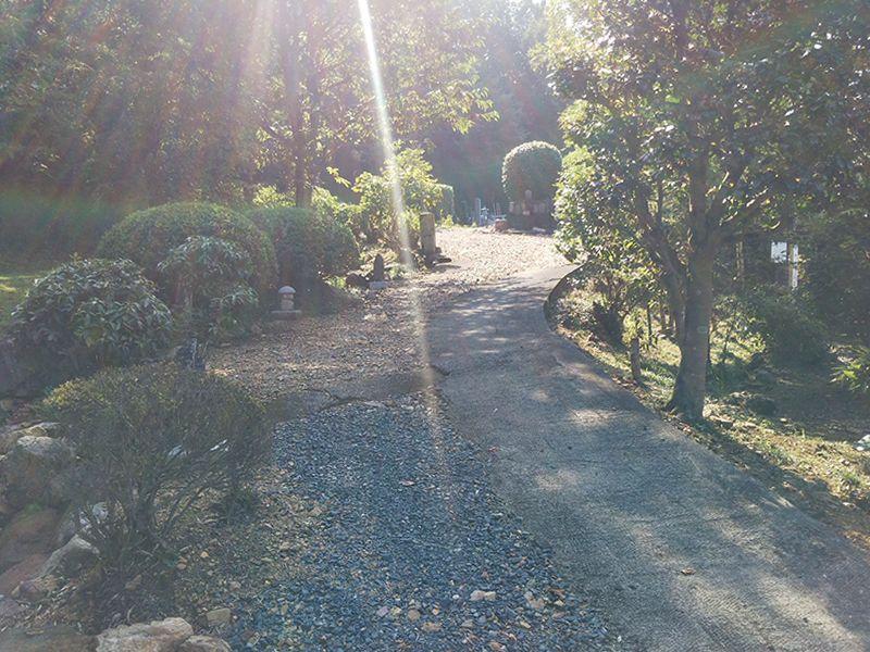報恩寺墓地
