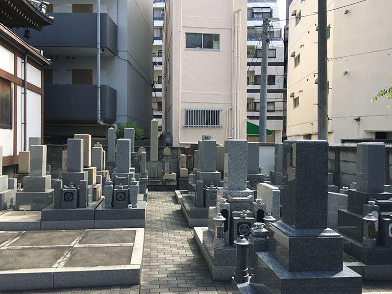 源光寺墓地